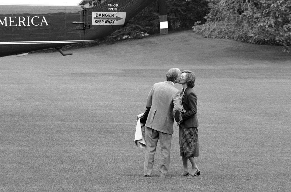 كارتر وزوجته علم 1979