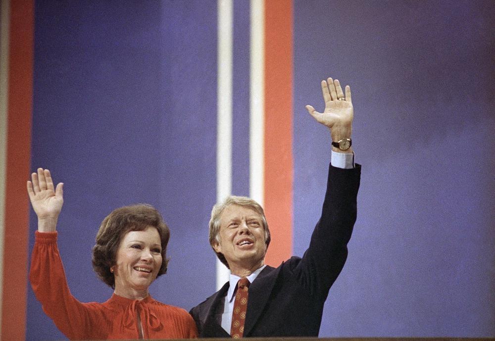 جيمي وروزالين عام 1976