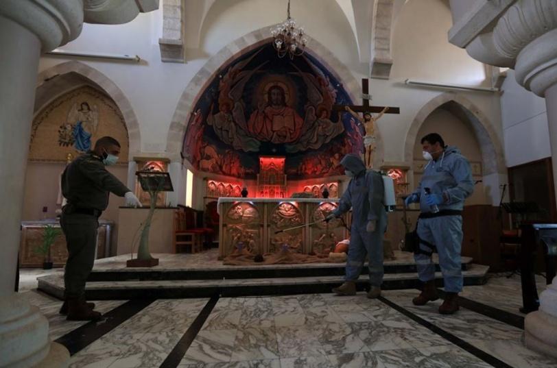 للجمعة الثالثة- تعليق دخول المصلين الى الأقصى والقيامة وطريق الآلام خالية