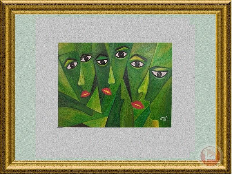 افتتاح معرض الكتروني للفنانة دعاء صغير بعنوان (حياة تنبض بالحب والعطاء والانسانية)