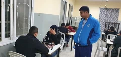 باشراف الاتحاد -  نادي عزون يختتم بطولة النخبة للشطرنج