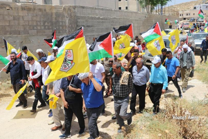 في ذكرى النكسة ورفضا للضم- اعتصام جنوب الظاهرية
