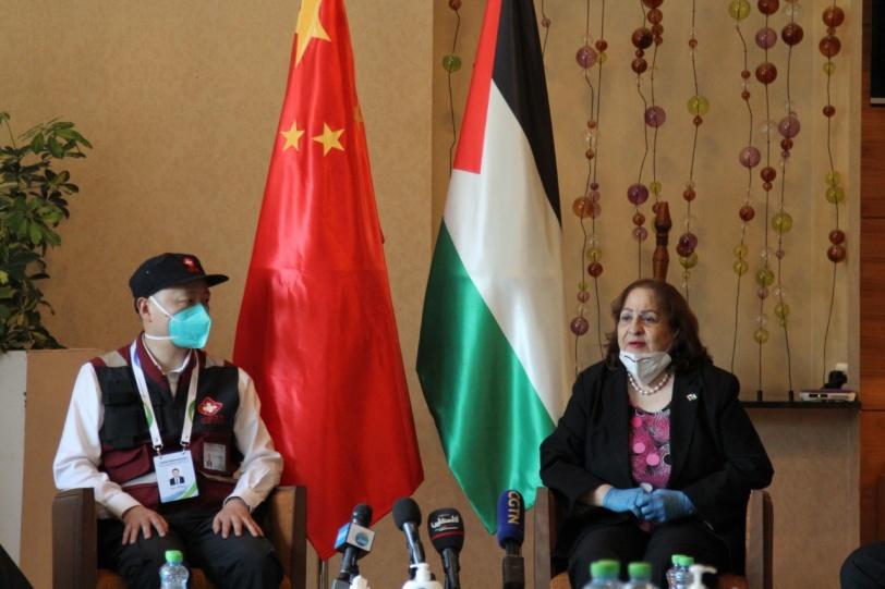وصول وفد الخبراء الصحي الصيني إلى فلسطين