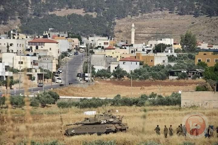 صور- تدمير خطوط المياه بالاغوار خلال تدريبات عسكرية واسعة للاحتلال