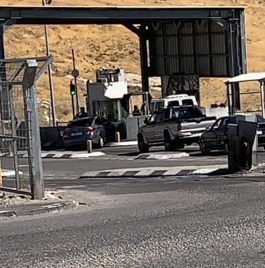 محدث- استشهاد شاب برصاص الاحتلال عند حاجز الكونتينر