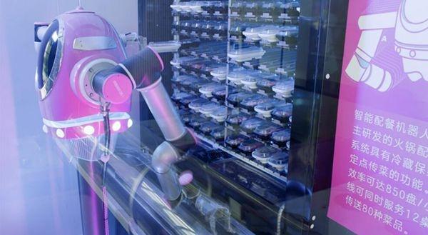 افتتاح مطعم باستخدام الروبوت في الصين