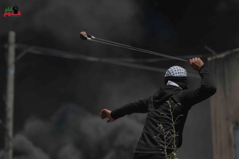 15 اصابة بنيران الاحتلال خلال قمع مسيرة كفر قدوم