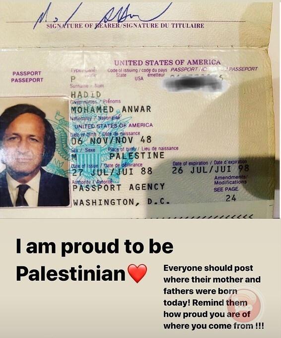 ألا يجب أن نكون فلسطينيين على إنستجرام