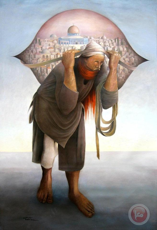الفنان منصور: الاحتلال منعنا من الرسم بالأحمر والأسود والأخضر والأبيض