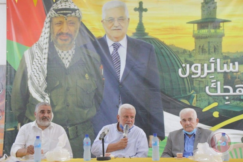 حركة فتح شعبة صيدا تنظم ندوة حوارية مع أمين سر الساحة اللبنانية اللواء فتحي أبو العردات