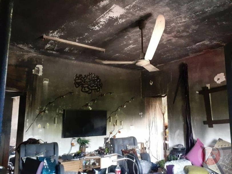 إنقاذ ربة منزل و3 أطفال والسيطرة على حريق منزل بأريحا