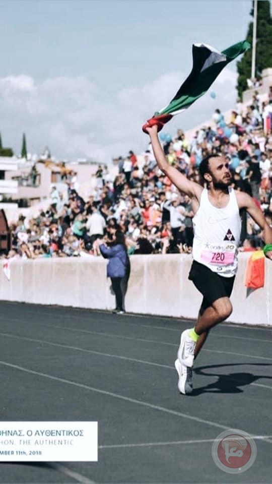 العداء الرياضي ثائر شناعة يشكل مجموعة ركض في روابي
