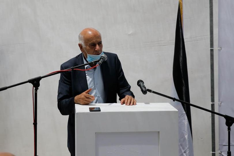 الرجوب يفتتح المقر الدائم لجمعية الكشافة والمرشدات الفلسطينية في القدس
