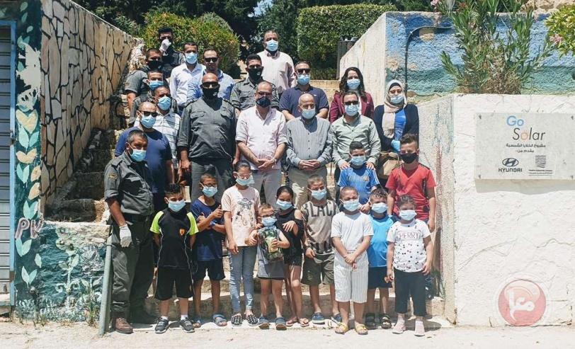 عشية العيد- صحة بيت لحم والوقائي ينظمان فعالية لاطفال قرية SOS