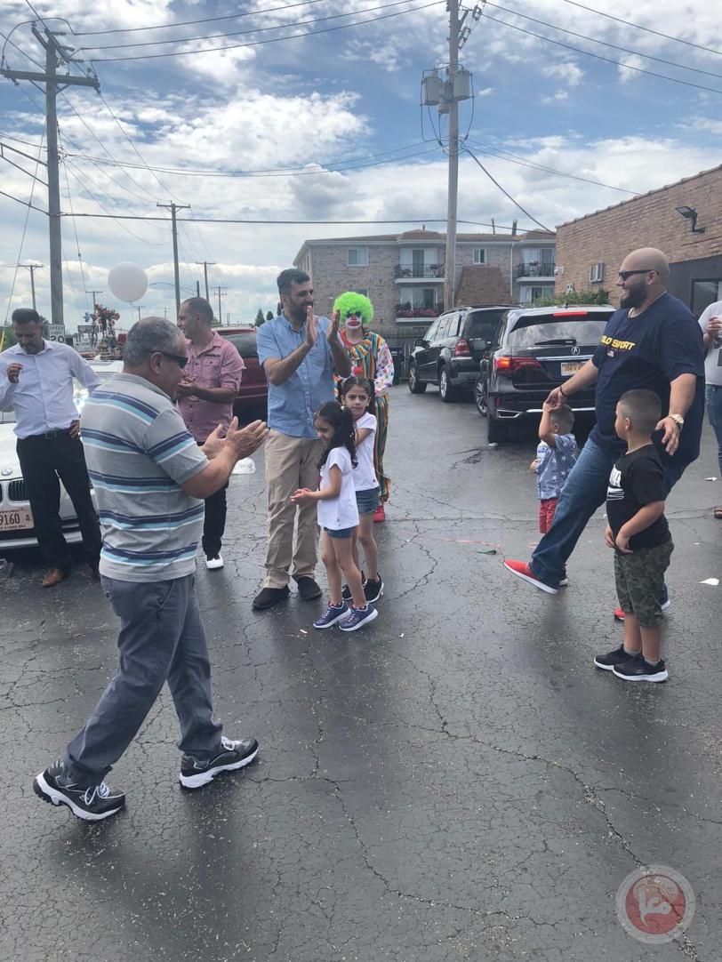 النادي الفلسطيني الأمريكي ينظم فعالية ترفيهية للجالية بمناسبة عيد الأضحى