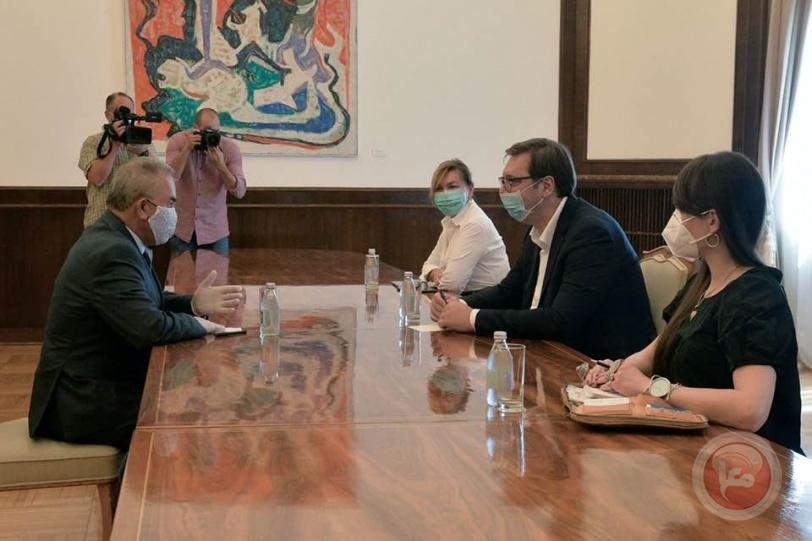 صربيا تؤكد معارضتها لأي إجراء أحادي من جانب إسرائيل