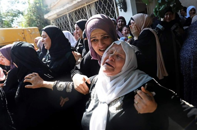 تشييع جثمان الشهيدة داليا سمودي في جنين