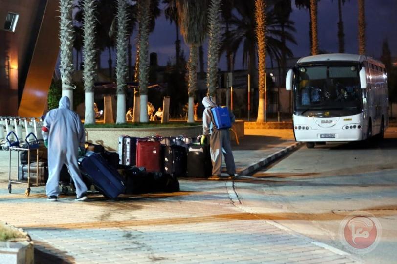 تواصل العمل بمعبر رفح- وصول 503 ومغادرة 396 مواطنا