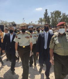 البحث عن شهداء الجيش العربي- القوات المسلحة الأردنية .. في بيتا كان المشهد مهيبا