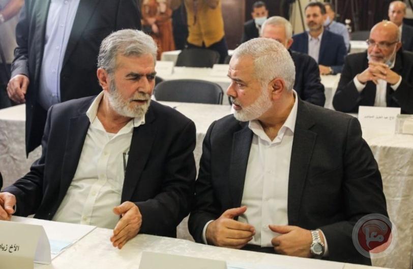على وقع اتفاقيات التطبيع.. حماس تلتقي الجهاد في بيروت