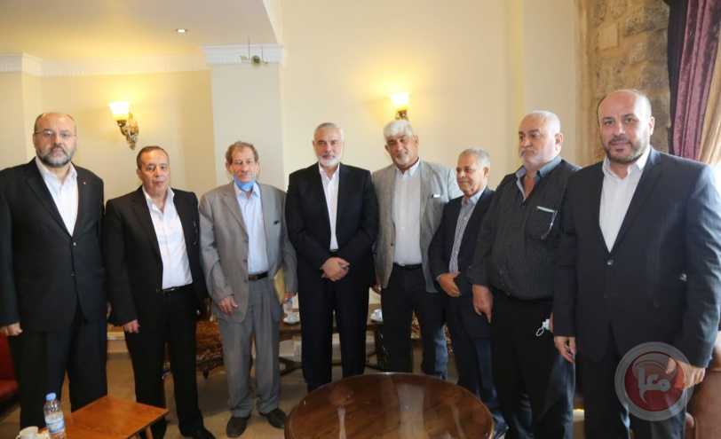هنية: التنسيق بين قوى المقاومة سوف يسقط المشروع الإسرائيلي