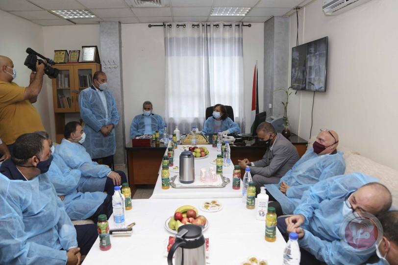 قلقيلية: تخصيص مشفى الشهيد عمر القاسم لعلاج الكورونا