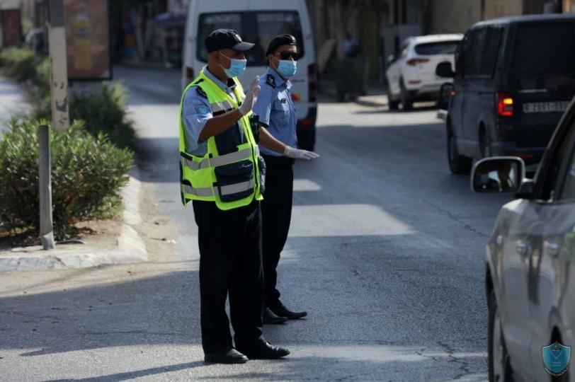 بالصور.. الشرطة تكثف جهودها لكسر منحنى وباء  كورونا