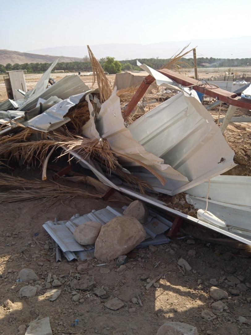 الاحتلال يهدم منزلا في الاغوار