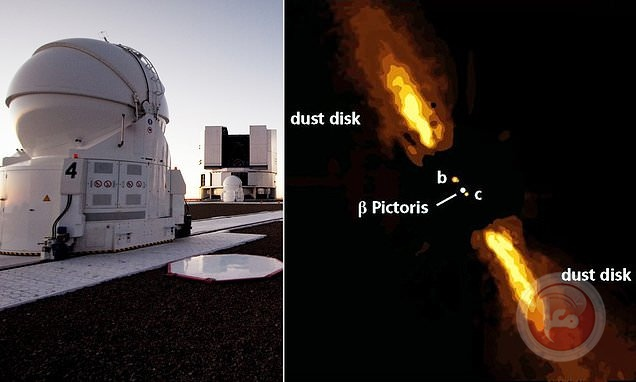 التقاط أول صورة مباشرة لكوكب خارج المجموعة الشمسية!