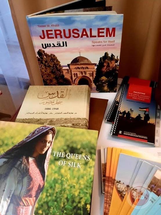 معرض للتراث والمأكولات الشعبية الفلسطينية في بولندا