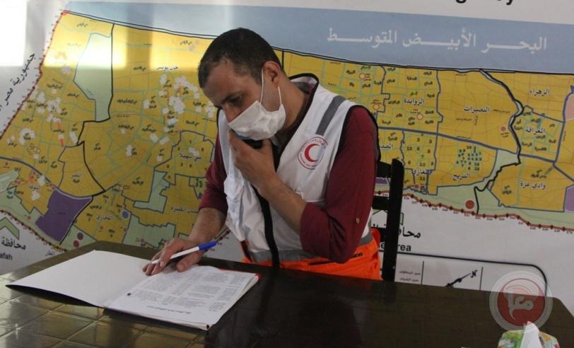 دائرة الصحة النفسية في الهلال الاحمر تواصل تقديم خدماتها لمواجهة كورونا بغزة