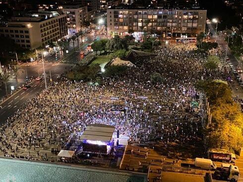 صور- استمرار التظاهرات المطالبة باستقالة نتنياهو
