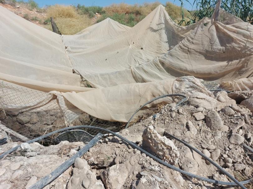 الاحتلال ينفذ عمليات هدم بالأغوار