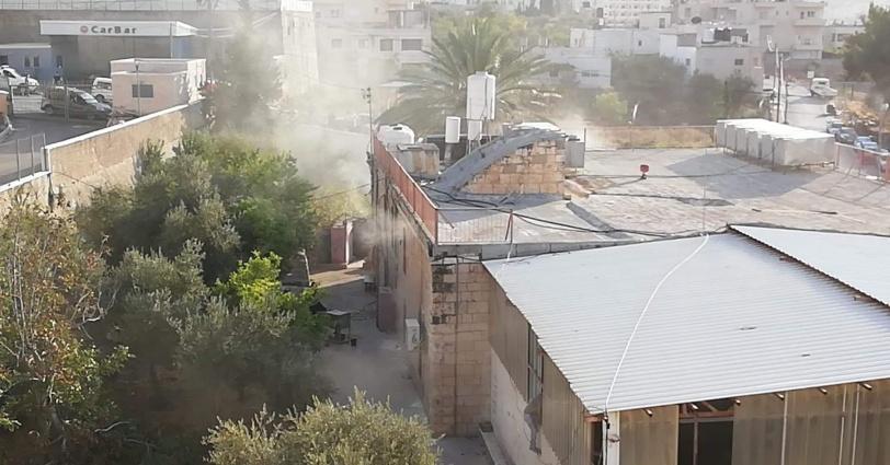 12 إصابة جراء حريق في مركز رعاية الفتيات ببيت لحم
