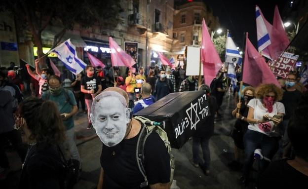 الأسبوع الـ 19 للتظاهرات: الآلاف يتظاهرون ضد نتنياهو