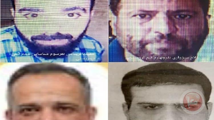 المخابرات الايرانية تنشر صور منفذي اغتيال رئيس البرنامج النووي