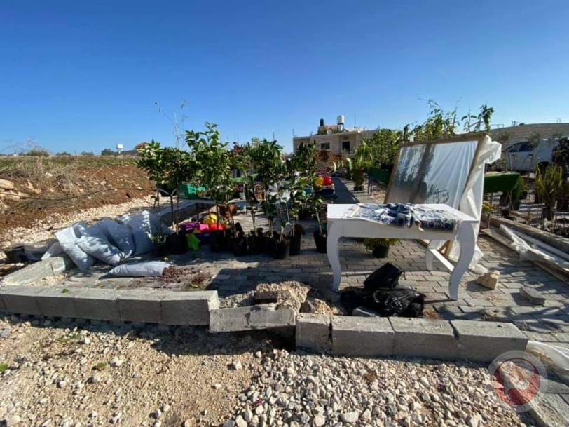 الاحتلال يستولي على منشأة زراعية في تقوع