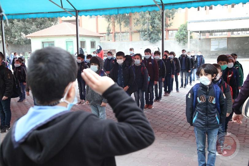 استئناف الدراسة في المرحلة الابتدائية بقطاع غزة