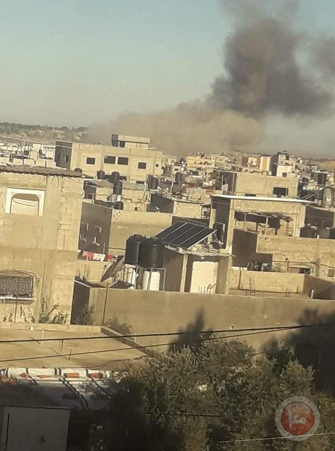 صور- اصابات بانفجار غامض شرق بيت حانون شمال القطاع