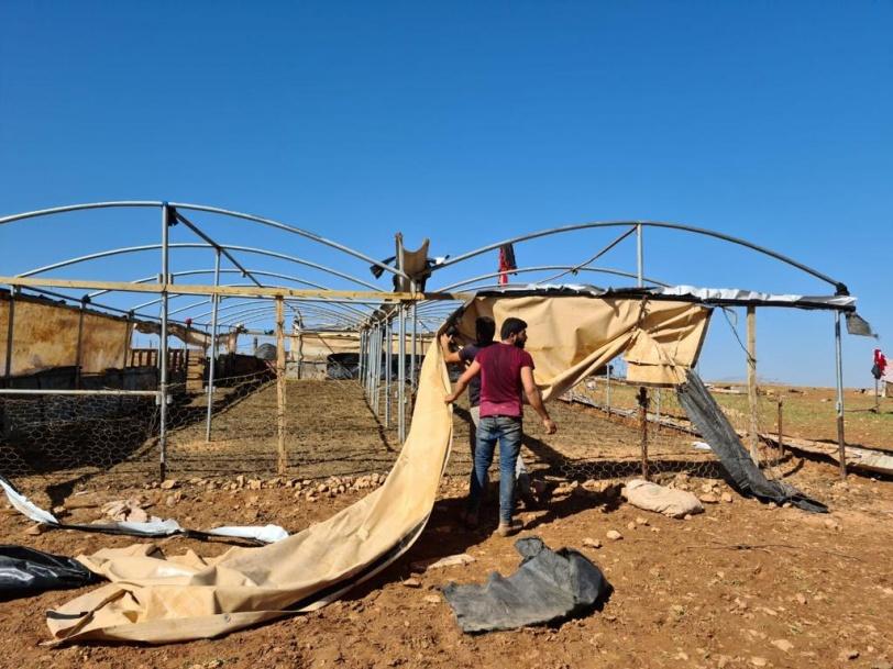 الجيش الإسرائيلي يزعم: الاتفاق على نقل سكان خربة حمصة إلى مكان آخر