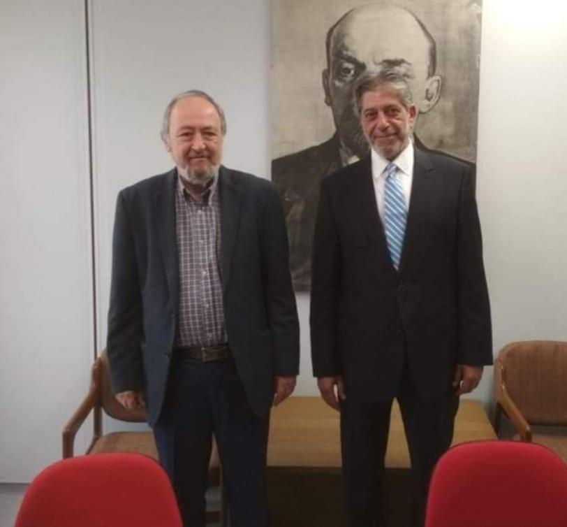 السفير طوباسي يجري اتصالات عاجلة مع قادة كافة الاحزاب السياسية اليونانية