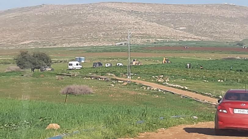 جرافات الاحتلال تشرع بعمليات هدم في الاغوار
