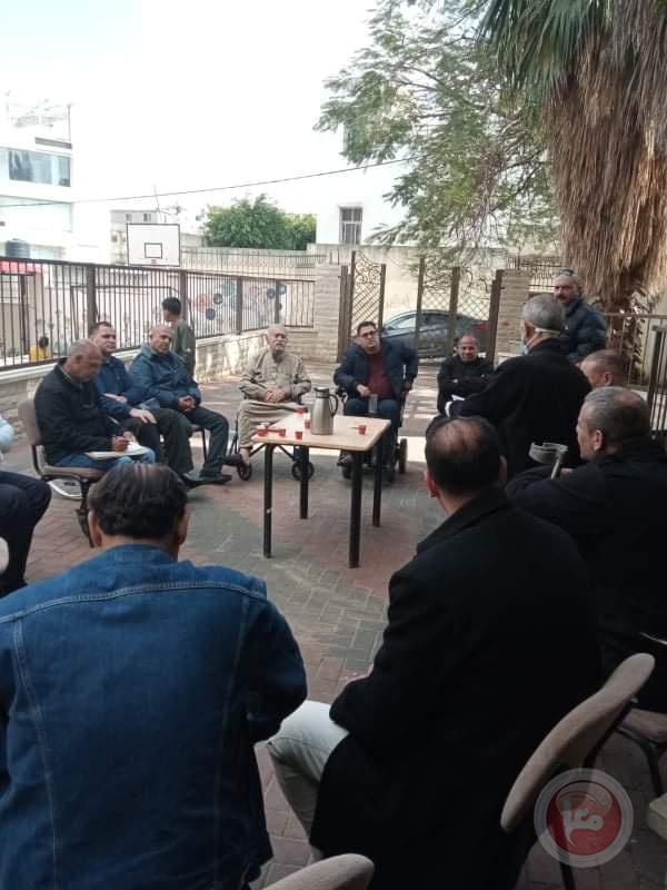اجتماع جرحى الثورة الفلسطينية في محافظة طولكرم