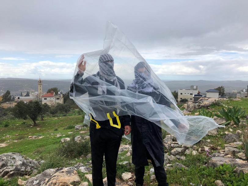 اصابة شاب بعيار اسفنجي خلال قمع  الاحتلال لمسيرة كفر قدوم
