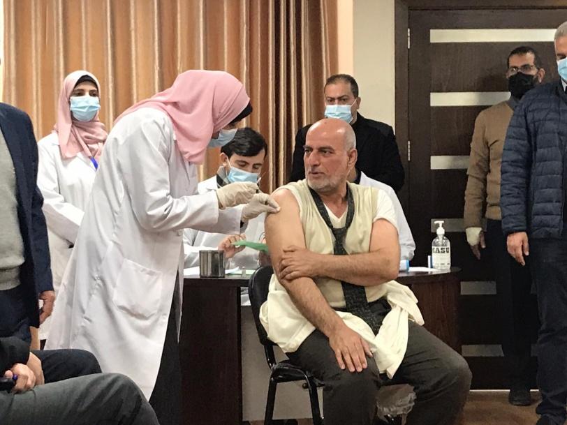 7 الاف فقط سجلوا لتلقيه: انطلاق عملية التطعيم في غزة