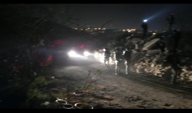 قوات الاحتلال تهدم خيمة عائلة عليان في العيسوية