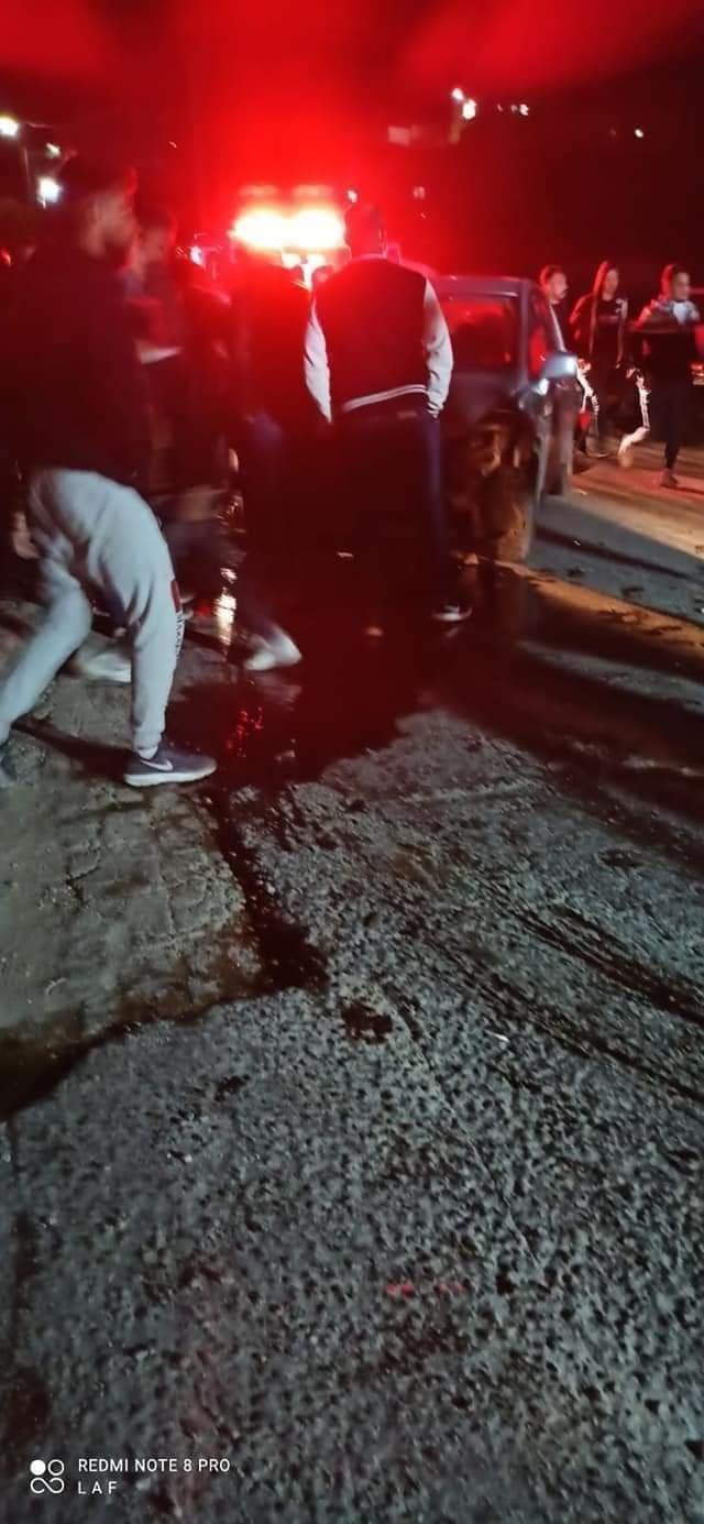 اصابة 6 مواطنين بجروح ما بين متوسطة وطفيفة شمال الخليل