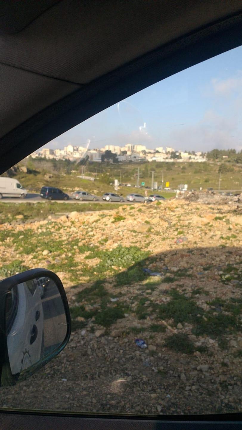 صور- الامن الفلسطيني يمنع دخول المركبات الى رام الله