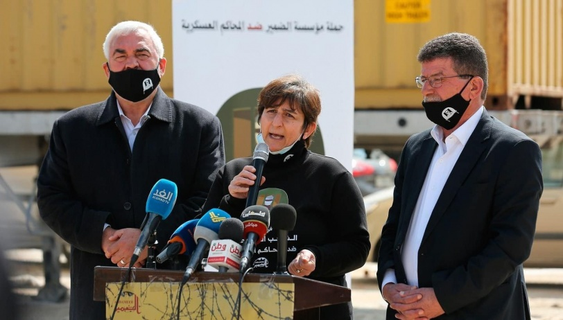 إطلاق حملة ضد المحاكم العسكرية الإسرائيلية