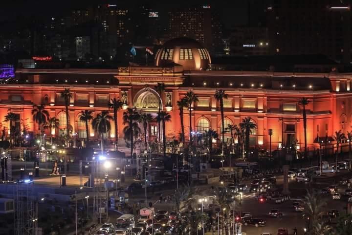 شاهد الحدث العالمي- انطلاق موكب المومياوات الملكية في مصر